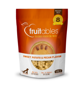 Fruitables Fruitables Sweet Potato & Pecan Flavor Crunchy Dog Treats 7oz