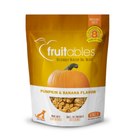 Fruitables Fruitables Pumpkin & Banana Flavor Crunchy Dog Treats 7oz