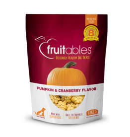 Fruitables Fruitables Pumpkin & Cranberry Flavor Crunchy Dog Treats 7oz