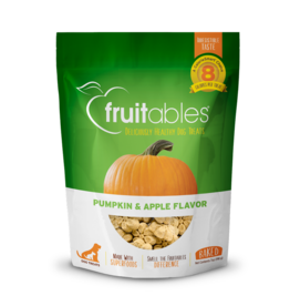 Fruitables Fruitables Pumpkin & Apple Flavor Crunchy Dog Treats 7oz