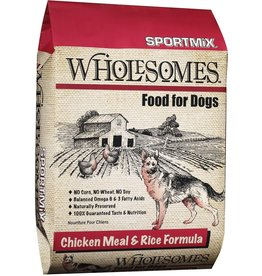 Sportmix Sportmix Wholesomes Chicken Meal & Rice Dry Dog Food 40lb