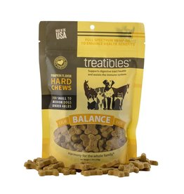 Treatibles Harmony For The Whole Family Treatibles Organic Full Spectrum Hemp Oil Balance (Pumpkin Flavor) Small Hard Chews Canine Under 40lbs