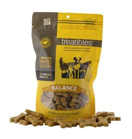 Treatibles Harmony For The Whole Family Treatibles Organic Full Spectrum Hemp Oil Balance (Pumpkin Flavor) Large Hard Chews Canine Over 40lbs