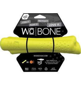 WO Dog Toys Widows & Orphans WO Bone Yellow Small Dog Toy