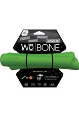WO Dog Toys Widows & Orphans WO Bone Green Small Dog Toy
