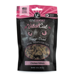Vital Essentials Vital Essentials Vitalcat Freeze-Dried Chicken Giblets Cat Treats 1.0oz
