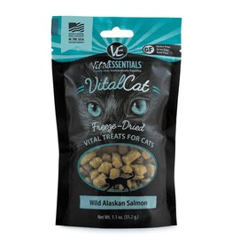 Vital Essentials Vital Essentials Vitalcat Freeze-Dried Alaskan Salmon Cat Treats 1.1oz