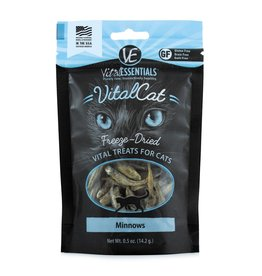 Vital Essentials Vital Essentials VitalCat Freeze-Dried Minnows Cat Treat 1.0oz
