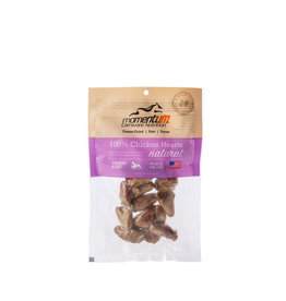 Momentum Momentum Freeze-Dried Chicken Hearts Dog & Cat Treats 1oz