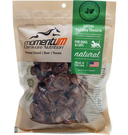 Momentum Momentum Freeze-Dried Turkey Hearts Dog & Cat Treats 4oz