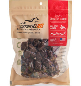 Momentum Momentum Freeze-Dried Beef Hearts Dog & Cat Treats 4oz