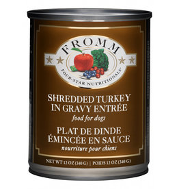 Fromm Family Foods Fromm Shredded Turkey Entree Canned Dog Food 12oz