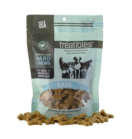 Treatibles Harmony For The Whole Family Hemp Treats for Dogs under 40lbs (Blueberry)
