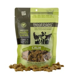 Treatibles Harmony For The Whole Family Hemp Treats for Dogs under 40lbs (Turkey)