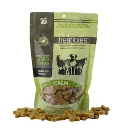 Treatibles Harmony For The Whole Family Hemp Treats for Dogs over 40lbs (Turkey)