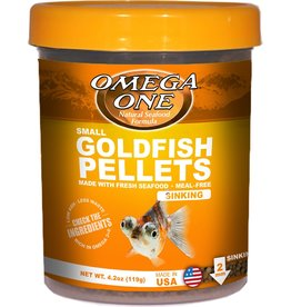 Omega One Omega One Small Goldfish Pellets Sinking 4.2oz