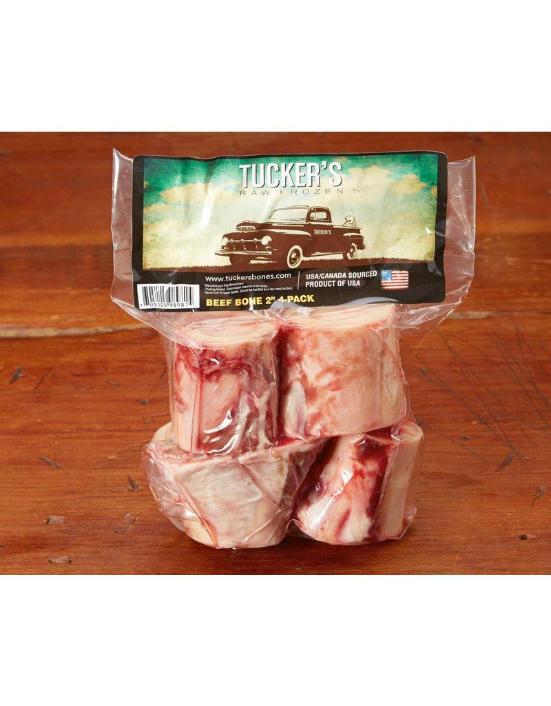 """Tucker's Tucker's Raw Frozen Bones Beef 2"""" 4-Pack"""