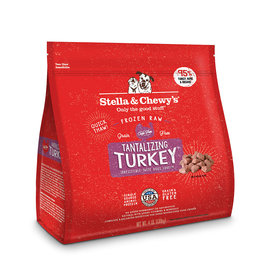 Stella & Chewy's Turkey Raw Frozen Dinner Morsels For Dogs 4lb