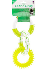 Multi Pet MultiPet Canine Clean Three Ring Spearmint Dog Toy 11in