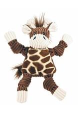 HuggleHounds HuggleHounds Knottie Giraffe Dog Toy Small