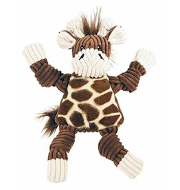 HuggleHounds HuggleHounds Knottie Giraffe Dog Toy Small