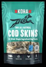 Koha Super Premium Pet Food Koha Air Dried Cod Skins Dog Treats 2.5oz