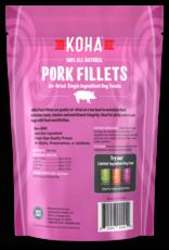 Koha Air Dried Pork Fillets Dog Treats 4oz
