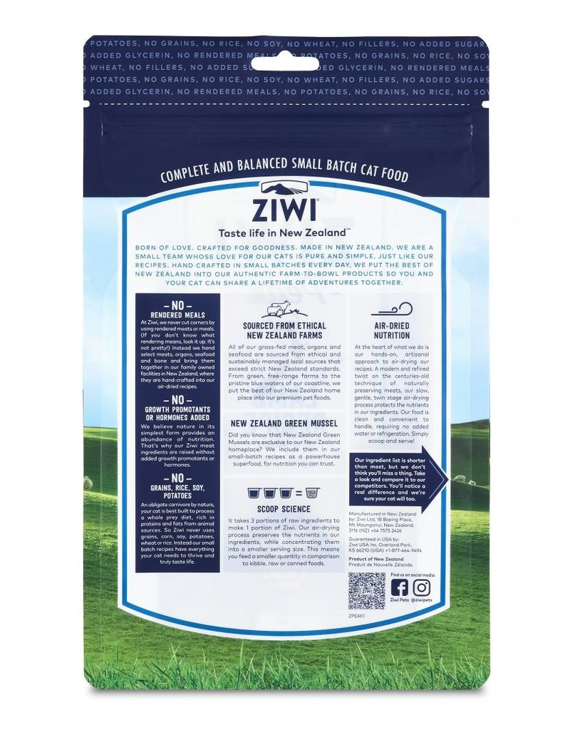 ZiwiPeak Ziwi Peak Air-Dried Lamb Recipe Cat Food 2.2lb