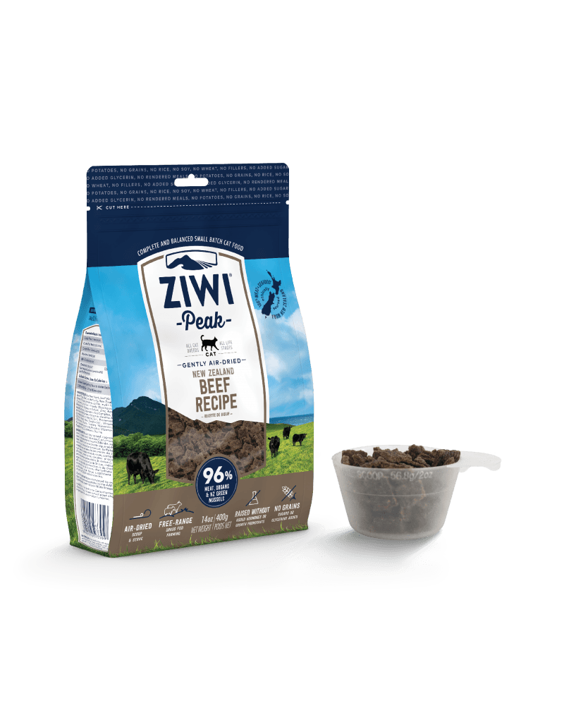 ZiwiPeak Ziwi Peak Air-Dried Beef Recipe Cat Food 2.2lb