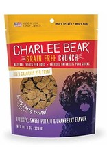 Charlee Bear Charlee Bear Grain-Free Bear Crunch Turkey Sweet Potato Cranberry Dog Treats 8oz