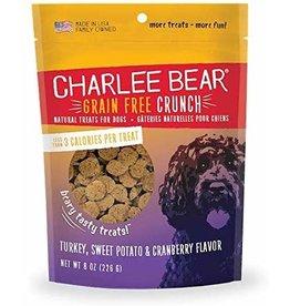 Charlee Bear Charlee Bear Grain-Free Bear Crunch Turkey Sweet Potato Cranberry Dog Treats 8oz