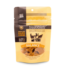 Treatibles Harmony For The Whole Family Hemp Treats for Dogs under 40lbs (Pumpkin) Trial