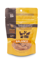 Treatibles Harmony For The Whole Family Treatibles Organic Full Spectrum Hemp Oil Balance (Pumpkin Flavor) Large Hard Chews Canine Trial Package