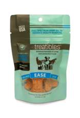 Treatibles Harmony For The Whole Family Treatibles Organic Full Spectrum Hemp Oil Ease (Blueberry Flavor) Large Hard Chews Canine Trial Package