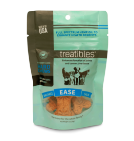 Treatibles Harmony For The Whole Family Hemp Treats for Dogs over 40lbs (Blueberry) Trial
