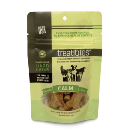 Treatibles Harmony For The Whole Family Hemp Treats for Dogs under 40lbs (Turkey) Trial