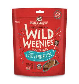 Stella & Chewy's Grass-Fed Lamb Recipe Freeze-Dried Wild Weenies Dog Treats 3.25oz