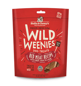 Stella & Chewy's Stella & Chewy's Red Meat Recipe Freeze-Dried Wild Weenies Dog Treats 3.25oz