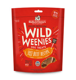 Stella & Chewy's Grass-Fed Beef Recipe Freeze-Dried Wild Weenies Dog Treats 3.25oz