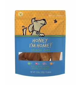 Honey I'm Home Honey I'm Home Buffalo Ears Dog Chews 10pk