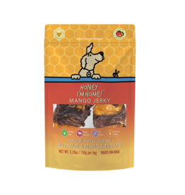 Honey I'm Home Honey I'm Home Buffalo Mango Jerky Dog Treats 5.29oz