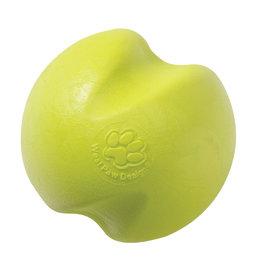 West Paw West Paw Zogoflex Jive Dog Ball Toy Large, Granny Smith Green