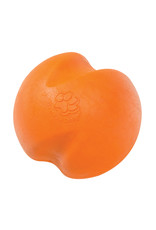West Paw West Paw Zogoflex Jive Dog Ball Toy Large, Tangerine Orange