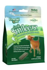 Emerald Pet Emerald Pet Smileezz Medium Dental Chews for Dogs 12.5oz