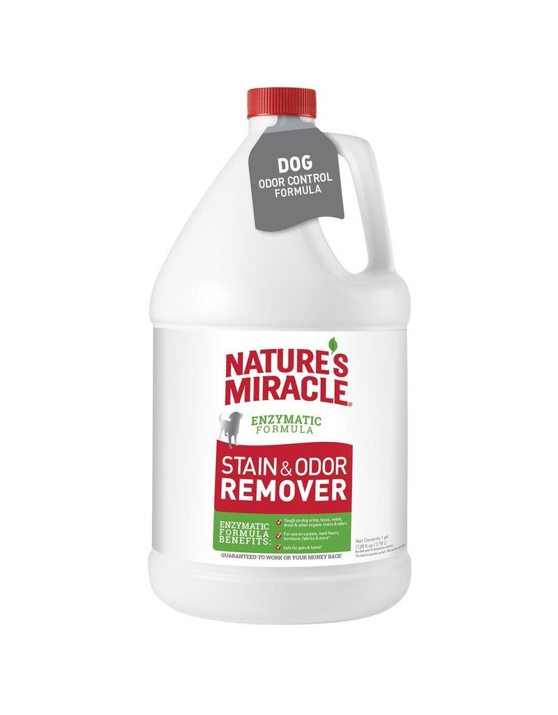 Nature's Miracle Enzymatic Formula Stain & Odor Remover for Dogs 128oz Pour Bottle