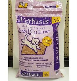 Vetbasis Vetbasis Nature Derived Herbal Cat Litter Lavender 15lb Bag