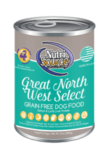 NutriSource Super Premium Pet Foods NutriSource Northwest Select Canned Dog Food 13oz
