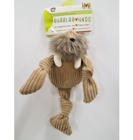 HuggleHounds HuggleHounds Knotties Walrus Small Dog Toy