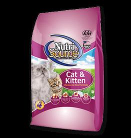 NutriSource Super Premium Pet Foods NutriSource Cat & Kitten Chicken & Rice Dry Cat Food 6.6lb