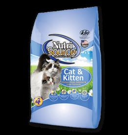 NutriSource Super Premium Pet Foods NutriSource Cat & Kitten Chicken Salmon and Liver Dry Cat Food